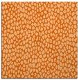 rug #510765   square red-orange popular rug