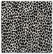 rug #510777 | square white animal rug
