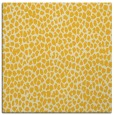 rug #510793 | square yellow animal rug