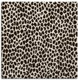 rug #510801   square brown animal rug