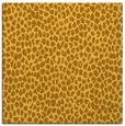 rug #510809 | square light-orange animal rug