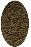 rug #510973   oval mid-brown popular rug