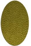 rug #511178   oval animal rug