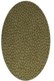 rug #511189 | oval light-green animal rug