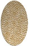 rug #511195 | oval animal rug