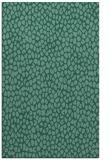 rug #511265 |  blue-green animal rug