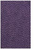 rug #511305 |  blue-violet popular rug