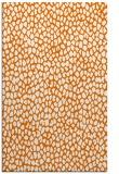 rug #511401 |  orange animal rug