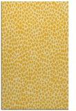 rug #511497 |  yellow animal rug