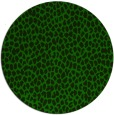 rug #511629 | round green popular rug