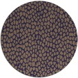 rug #511669 | round beige animal rug