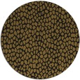 rug #511677   round black popular rug