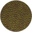 rug #511789 | round purple animal rug