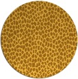 rug #511865 | round light-orange animal rug