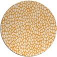rug #511909 | round light-orange animal rug