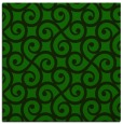 rug #512333 | square green traditional rug