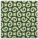 rug #512469   square yellow traditional rug