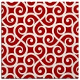 rug #512505 | square red rug
