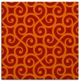 rug #512509 | square red traditional rug