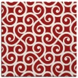 rug #512513 | square red traditional rug