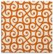 rug #512533   square red-orange traditional rug