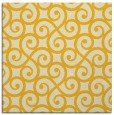 rug #512553 | square yellow traditional rug
