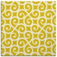 rug #512565 | square yellow traditional rug