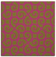 rug #512593 | square light-green rug