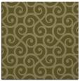 rug #512597 | square light-green traditional rug