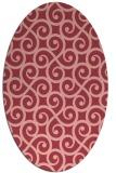 rug #512833 | oval traditional rug