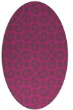 rug #512947 | oval popular rug