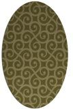 rug #512949   oval traditional rug