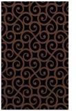 rug #512985 |  brown traditional rug