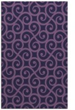 rug #513065 |  purple traditional rug