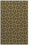 rug #513089 |  brown traditional rug