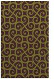 rug #513197    green traditional rug