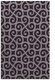 rug #513205 |  purple traditional rug