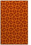 rug #513225 |  red-orange traditional rug