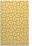 rug #513257    yellow traditional rug