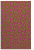 rug #513297 |  light-green traditional rug