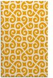 rug #513305 |  light-orange traditional rug