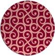 rug #513539 | round traditional rug