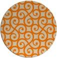 rug #513637   round beige traditional rug