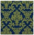 rug #514061 | square green damask rug