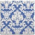 rug #514065 | square blue damask rug