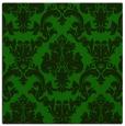 rug #514093 | square green damask rug