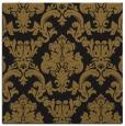 rug #514141 | square black damask rug