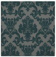 rug #514153 | square blue-green traditional rug