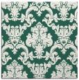 rug #514157 | square green damask rug