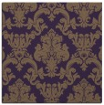 rug #514257 | square mid-brown traditional rug